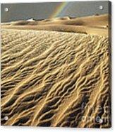 Catch A Rainbow Acrylic Print