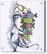 Catch Acrylic Print by Chibuzor Ejims