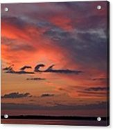 Catch The Cloud Wave Acrylic Print