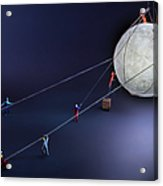 Catch The Moon Acrylic Print