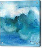 Catch The Wave Acrylic Print