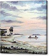Catching The Sunrise - Hagens Cove Acrylic Print