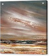 Catcleugh Reservoir Series Sunset Acrylic Print