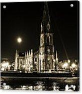 Cathedral At Nine Fifteen Acrylic Print by Tony Reddington