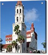 Cathedral Basilica Of St. Augustine Acrylic Print