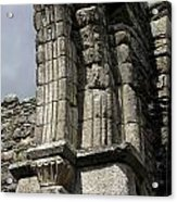 Cathedral Broken Arch At Glendalough Acrylic Print