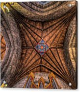 Cathedral Ceiling Acrylic Print