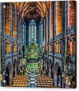 Cathedral Chapel Acrylic Print