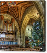 Cathedral Christmas Acrylic Print