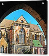 Cathedral Colmar France Acrylic Print