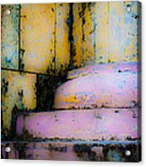 Cathedral Corner Detail 1 Acrylic Print