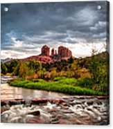 Cathedral Crossing Red Rock Acrylic Print