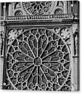 Cathedral De Notre Dame Acrylic Print