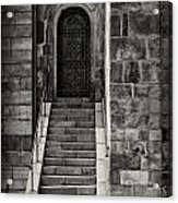 Cathedral Door And Steps Acrylic Print