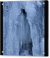 Cathedral Ice Waterfall Acrylic Print