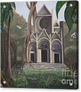 Cathedral In A Jungle Acrylic Print