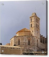 Cathedral In Ibiza Town Acrylic Print