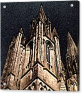 Cathedral In The Sky Acrylic Print