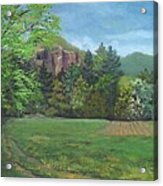 Cathedral Ledge From Westside Road Acrylic Print