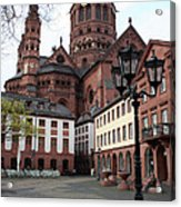 Cathedral - Mainz Acrylic Print