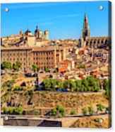 Cathedral, Medieval City, Toledo, Spain Acrylic Print