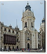 Cathedral Of Lima Acrylic Print