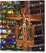 Cathedral Of Rio De Janeiro Acrylic Print