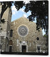 Cathedral Of San Giusto Acrylic Print