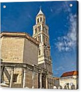 Cathedral Of Split Diocletian Palace Acrylic Print