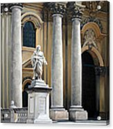 Cathedral Of Syracuse Acrylic Print by Kathleen English-Barrett