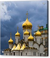Cathedral Of The Annunciation Of Moscow Kremlin Acrylic Print