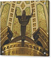 Cathedral Of The Immaculate Conception Detail - Mobile Alabama Acrylic Print