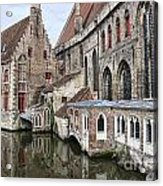 Cathedral Reflection Acrylic Print