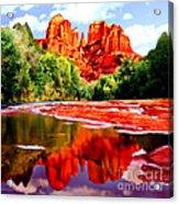 Cathedral Rock Sedona Arizona Acrylic Print