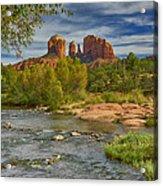 Cathedral Rock Sedona Az Dsc09018 Acrylic Print