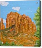 Cathedral Rock Sedona Az Right Acrylic Print