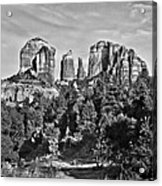 Cathedral Rocks Red Rock State Park Arizona Acrylic Print