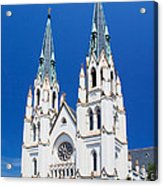 Cathedral, Savannah, Georgia Acrylic Print