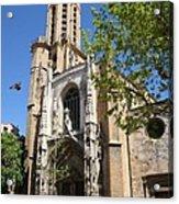 Cathedral St Sauveur - Aix En Provence Acrylic Print