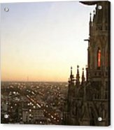Cathedral Sunset - La Plata Acrylic Print