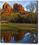 Cathedral Acrylic Print by Tom Kelly