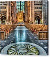 Cathedral Way Acrylic Print