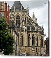 Cathedrale Saint - Cyr - Et - Sainte - Julitte De Nevers Acrylic Print