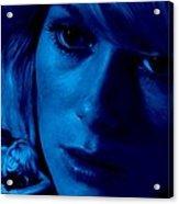 Catherine Deneuve in the film Repulsion Acrylic Print