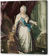Catherine The Great  Empress Of Russia Acrylic Print