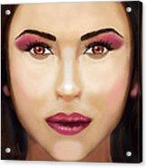 Catherine Zeta Jones Acrylic Print