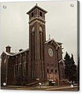 Catholic Church In Lewesiton  Acrylic Print