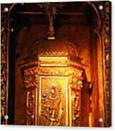 Catholic Tabernacle  Acrylic Print