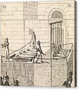 Cato Street Conspiracy Executions, 1820 Acrylic Print