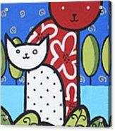 Cats 1 Acrylic Print